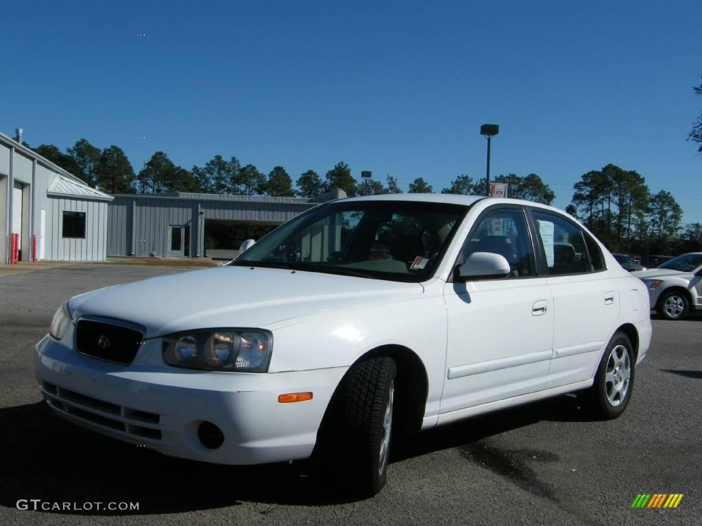 2002 nordic white hyundai elantra gls sedan 1093827 gtcarlot com car color galleries gtcarlot com