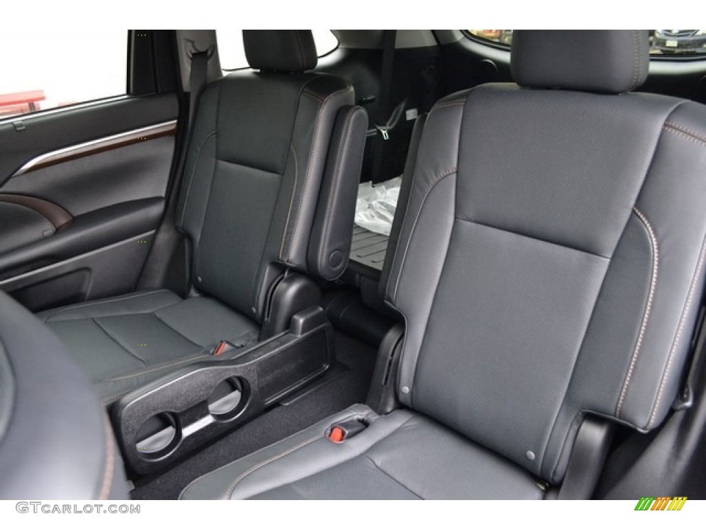 2016 predawn gray mica toyota highlander hybrid limited - Toyota highlander hybrid interior ...