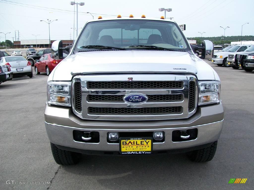 2007 oxford white clearcoat ford f250 super duty king ranch crew cab 4x4 11165088 gtcarlot. Black Bedroom Furniture Sets. Home Design Ideas