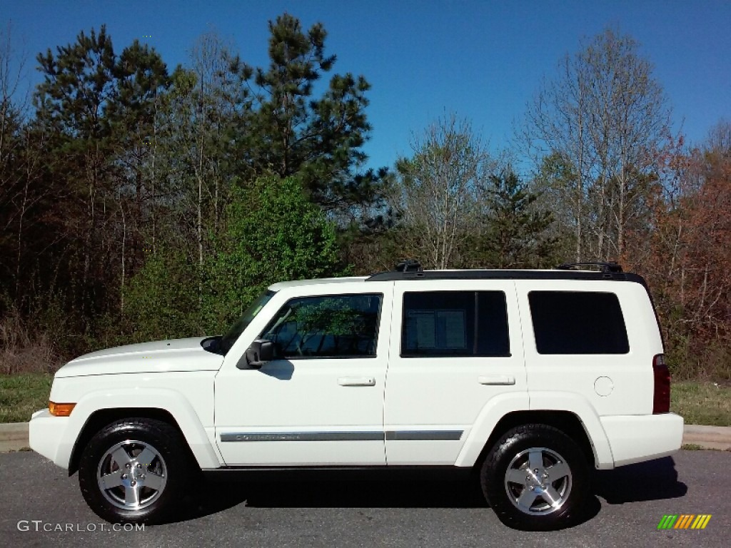 2010 Stone White Jeep Commander Sport 111927311 Gtcarlot Com Car Color Galleries