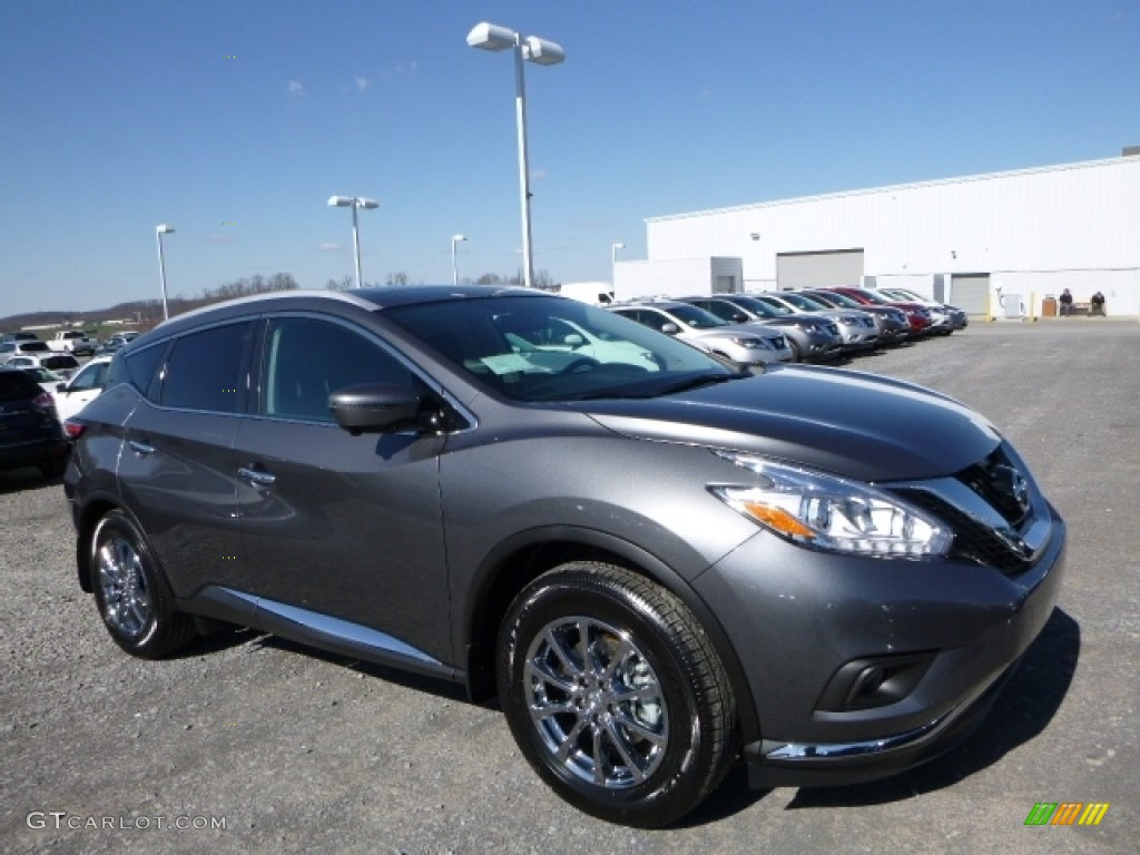 2016 gun metallic nissan murano sl awd 111927630 car color galleries. Black Bedroom Furniture Sets. Home Design Ideas
