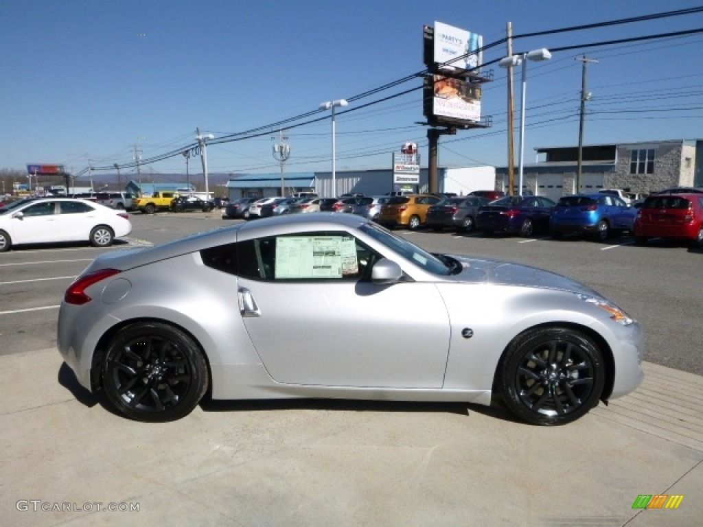 2016 Brilliant Silver Nissan 370z Coupe 111927629 Photo