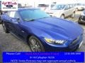 2016 Deep Impact Blue Metallic Ford Mustang GT Coupe  photo #1