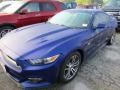 2016 Deep Impact Blue Metallic Ford Mustang GT Coupe  photo #2