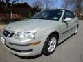 Parchment Silver Metallic 2006 Saab 9-3 2.0T Convertible