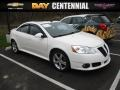 Ivory White 2008 Pontiac G6 GT Sedan