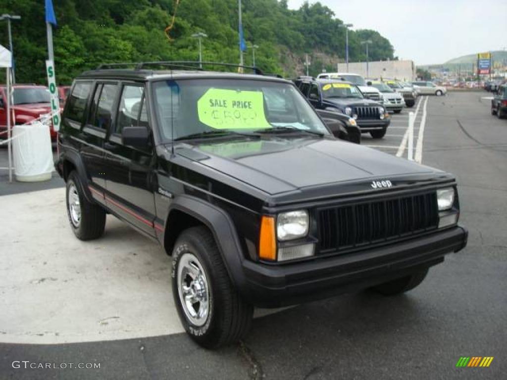 1996 Black Jeep Cherokee Sport 4wd 11174538 Photo 6