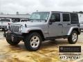 Billet Silver Metallic 2014 Jeep Wrangler Unlimited Sahara 4x4