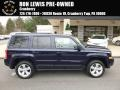 2014 True Blue Pearl Jeep Patriot Latitude 4x4 #111951302