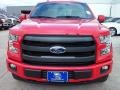2016 Race Red Ford F150 Lariat SuperCrew 4x4  photo #7