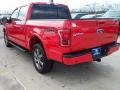 2016 Race Red Ford F150 Lariat SuperCrew 4x4  photo #12