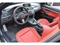 2016 3 Series Coral Red Interior