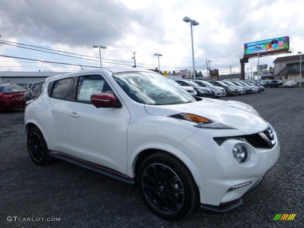 2016 pearl white nissan juke nismo awd 112015565 photo - Nissan juke interior color options ...