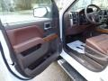 2016 Silverado 1500 High Country Crew Cab 4x4 High Country Saddle Interior