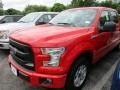 2016 Race Red Ford F150 XL SuperCrew  photo #2
