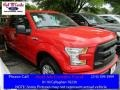 2016 Race Red Ford F150 XL SuperCrew  photo #1