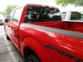 2016 Race Red Ford F150 XL SuperCrew  photo #5