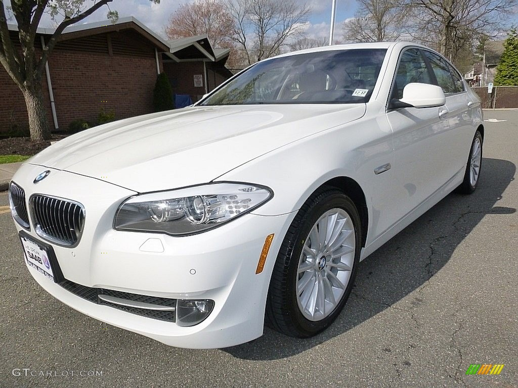 2013 alpine white bmw 5 series 535i xdrive sedan 112015579 car color galleries. Black Bedroom Furniture Sets. Home Design Ideas