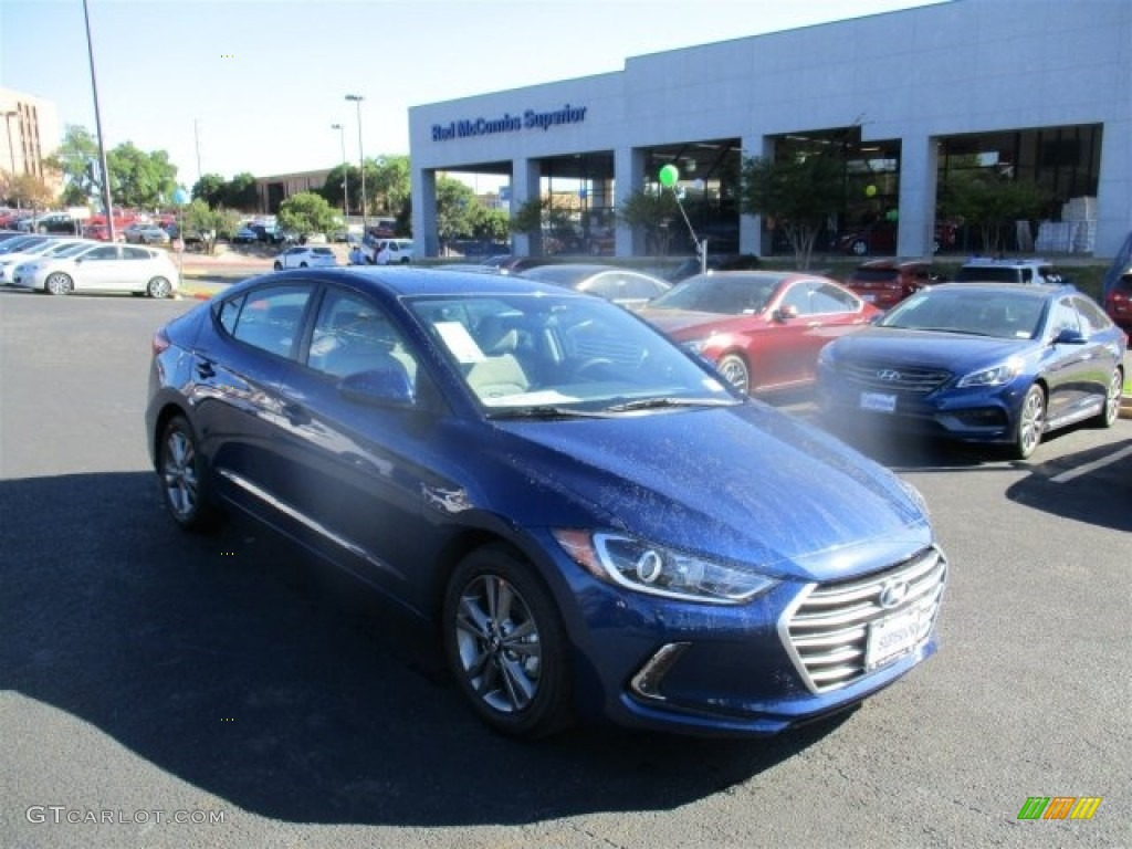 Elantra Interior 2017 >> 2017 Lakeside Blue Hyundai Elantra SE #112028411 | GTCarLot.com - Car Color Galleries