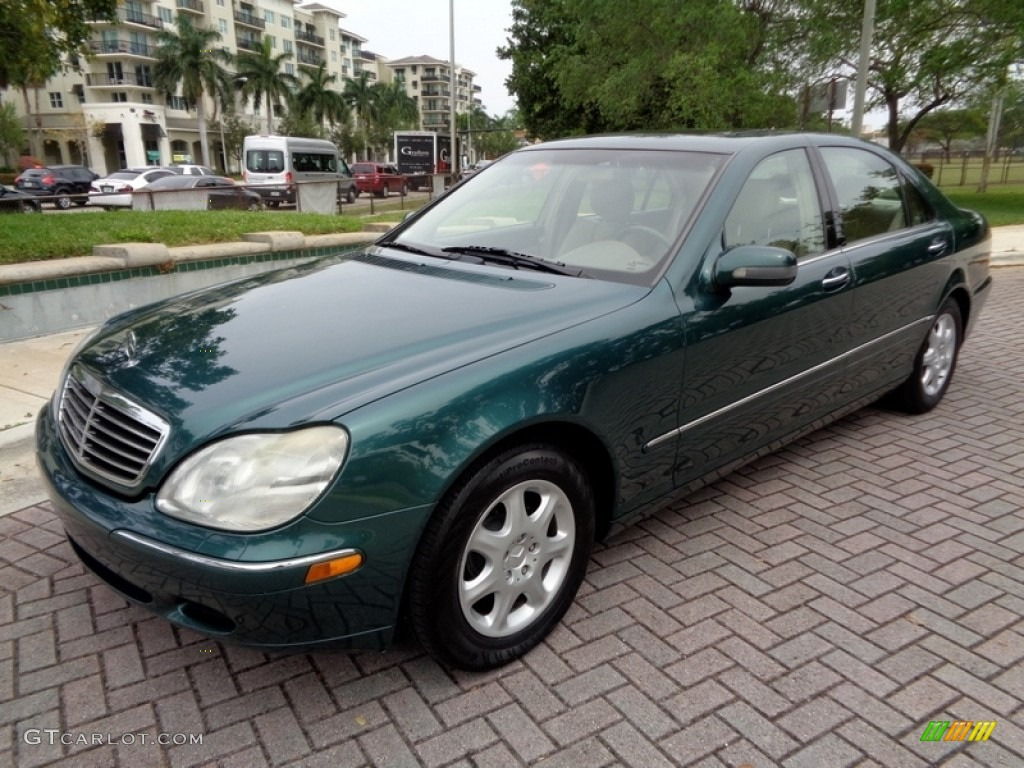 2000 aspen green metallic mercedes benz s 430 sedan for Mercedes benz green