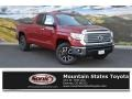 2016 Barcelona Red Metallic Toyota Tundra Limited CrewMax 4x4  photo #1