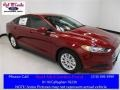 2016 Ruby Red Metallic Ford Fusion S #112117480