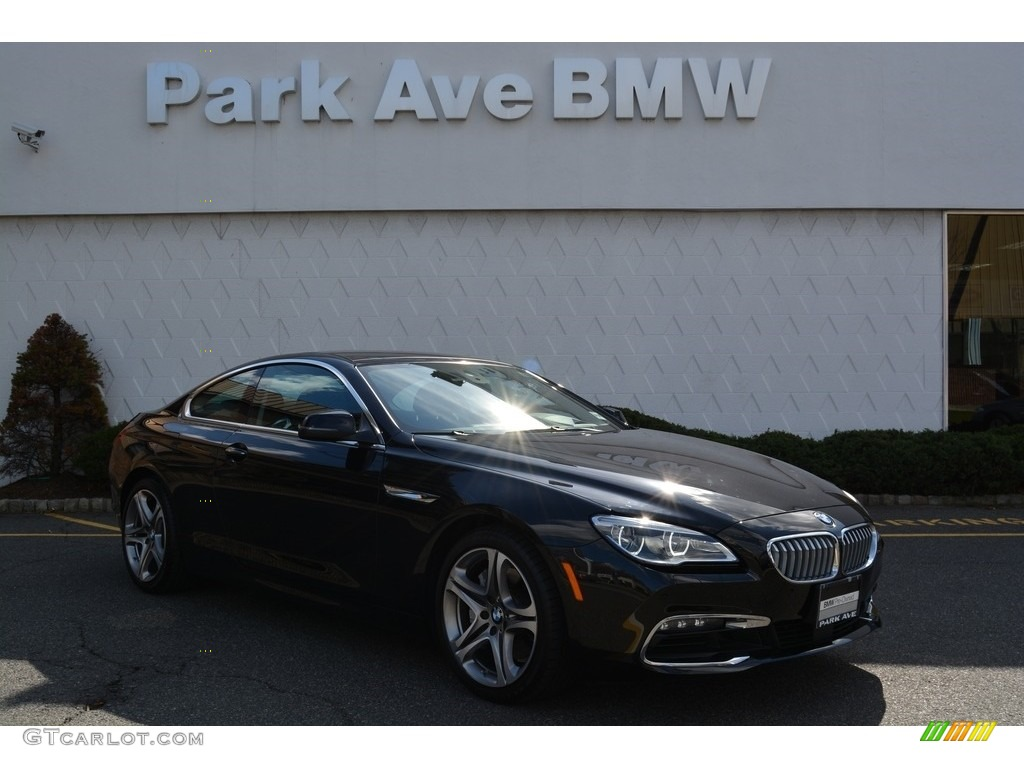 Black Shire Metallic Bmw 6 Series 650i Xdrive Coupe