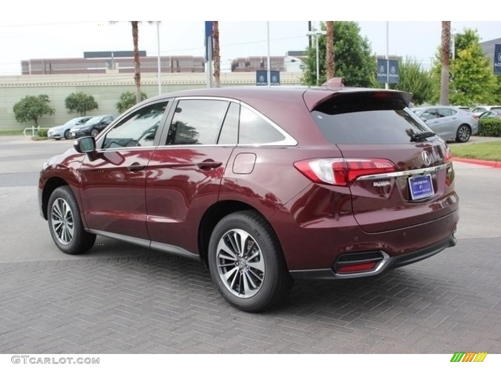 Acura Paint Codes >> 2017 Basque Red Pearl II Acura RDX Advance #112149208 Photo #5 | GTCarLot.com - Car Color Galleries