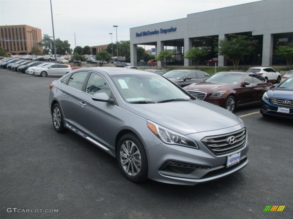 2016 shale gray metallic hyundai sonata sport 112184780 car color galleries. Black Bedroom Furniture Sets. Home Design Ideas