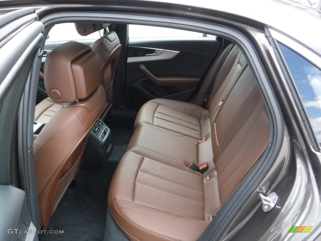 Nougat Brown Interior 2017 Audi A4 2.0T Premium Plus ...
