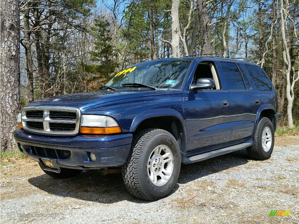 2003 Patriot Blue Pearlcoat Dodge Durango Slt 4x4 112185002 Gtcarlot Com Car Color Galleries