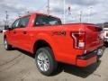 2016 Race Red Ford F150 XL SuperCrew 4x4  photo #6