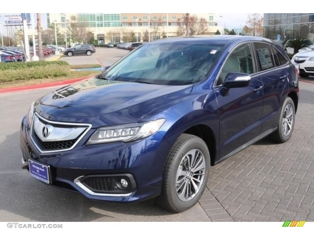 2017 Fathom Blue Pearl Acura Rdx Advance 112208328 Photo 3
