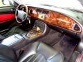 2000 Jaguar XK Charcoal Interior Dashboard Photo
