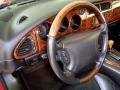 2000 Jaguar XK Charcoal Interior Steering Wheel Photo