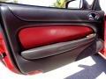 2000 Jaguar XK Charcoal Interior Door Panel Photo