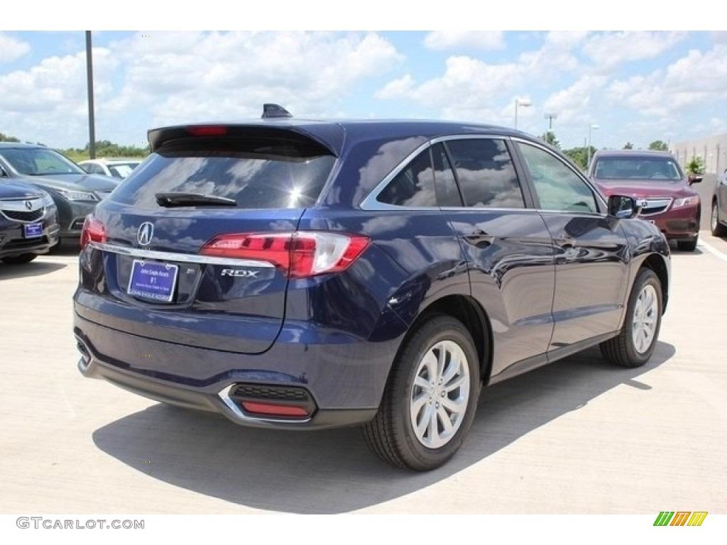 2017 Fathom Blue Pearl Acura Rdx Technology 112208325 Photo 7