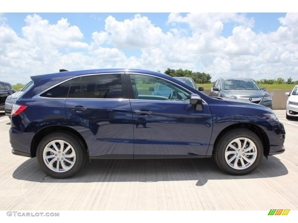 2017 Fathom Blue Pearl Acura Rdx Technology 112208325 Photo 8