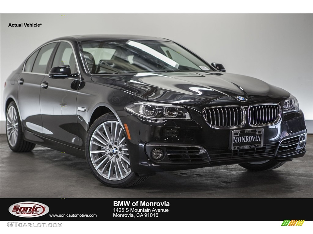 2016 black sapphire metallic bmw 5 series 550i sedan. Black Bedroom Furniture Sets. Home Design Ideas