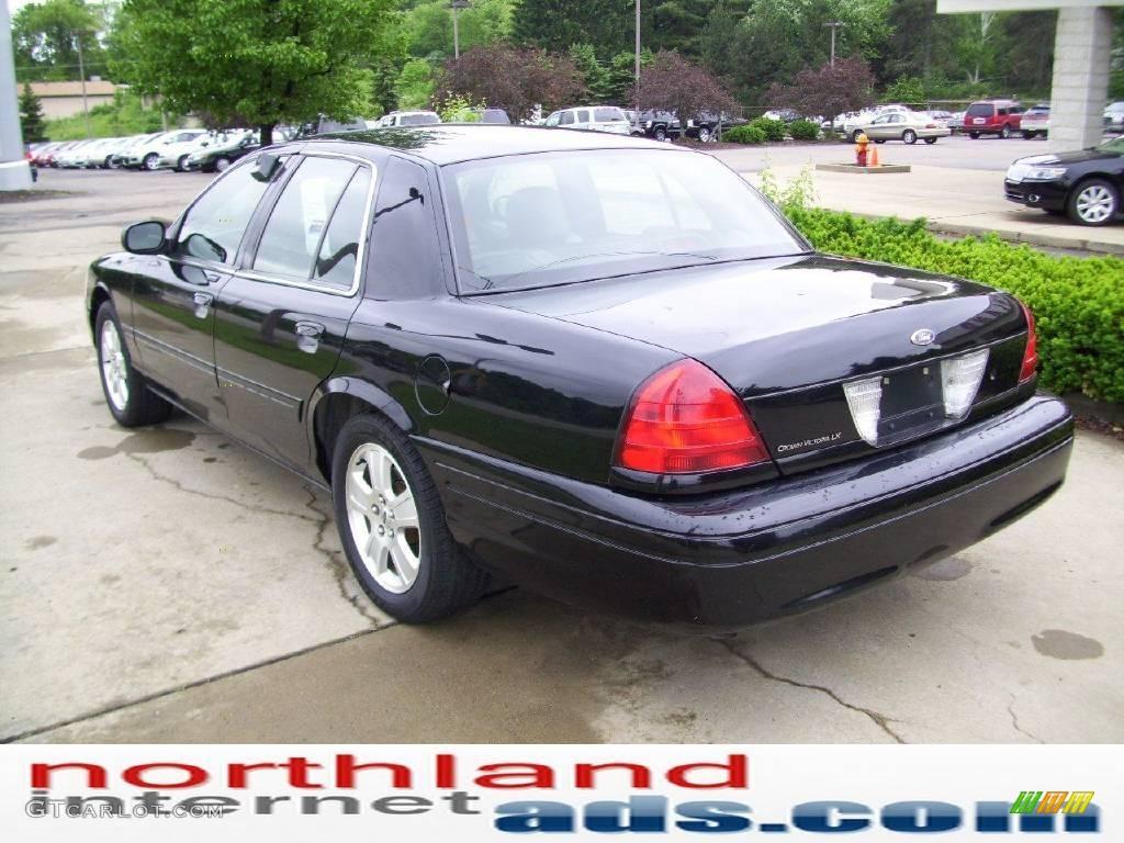 2006 black ford crown victoria lx sport 11216602 photo 2 car color galleries. Black Bedroom Furniture Sets. Home Design Ideas