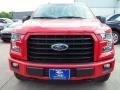 2016 Race Red Ford F150 XLT SuperCrew 4x4  photo #2