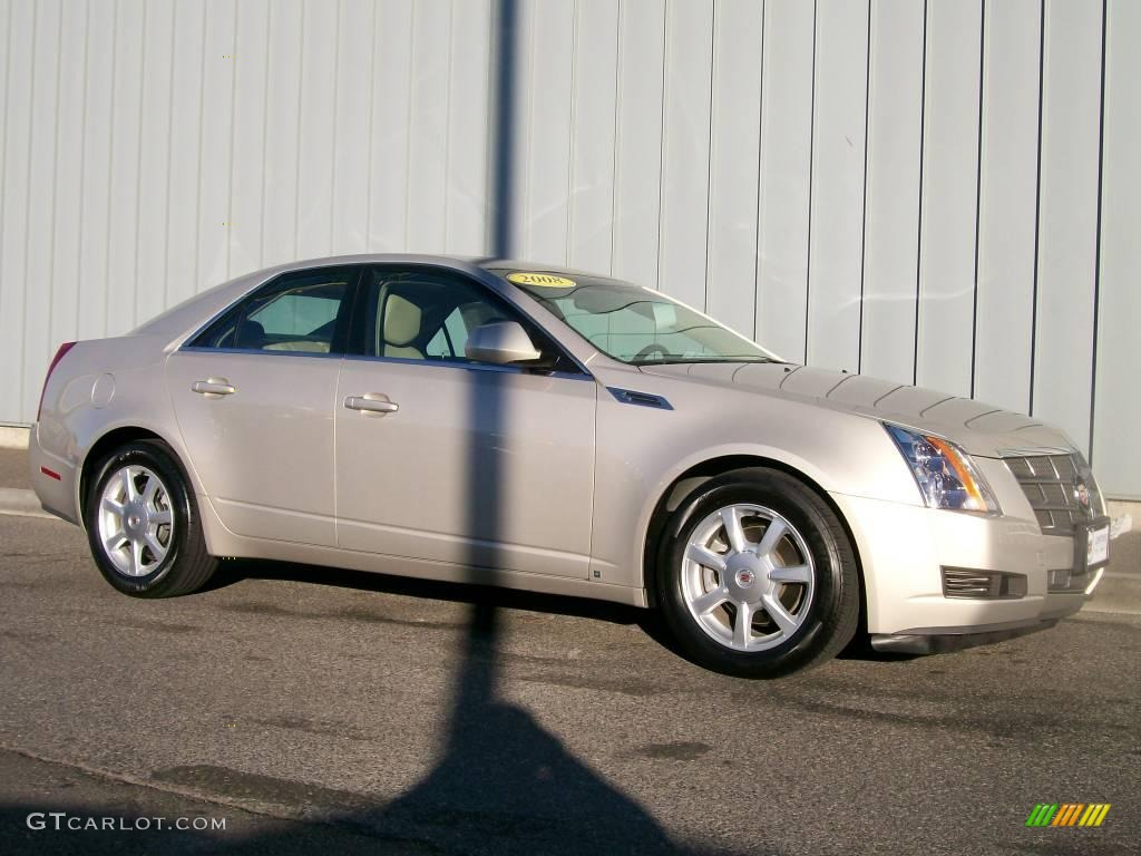2008 Gold Mist Cadillac Cts Sedan 1085803 Gtcarlot Com