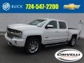 Iridescent Pearl Tricoat 2016 Chevrolet Silverado 1500 High Country Crew Cab 4x4