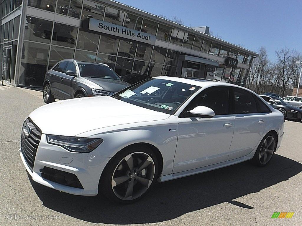 Glacier White Metallic Audi A6