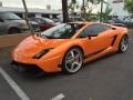 Arancio Borealis (Orange) 2010 Lamborghini Gallardo LP570 Superleggera