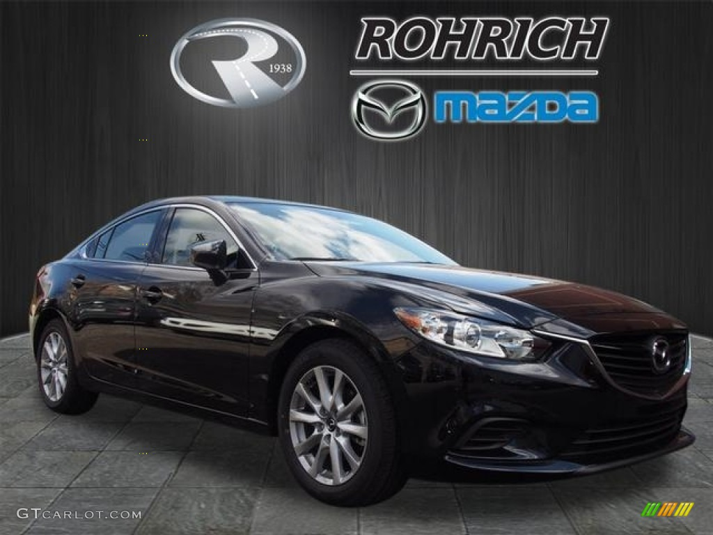 2016 jet black mica mazda mazda6 sport 112316825 car color galleries. Black Bedroom Furniture Sets. Home Design Ideas