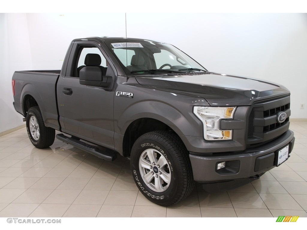2018 Ford F150 Colors >> 2016 Magnetic Ford F150 XL Regular Cab 4x4 #112317152 | GTCarLot.com - Car Color Galleries