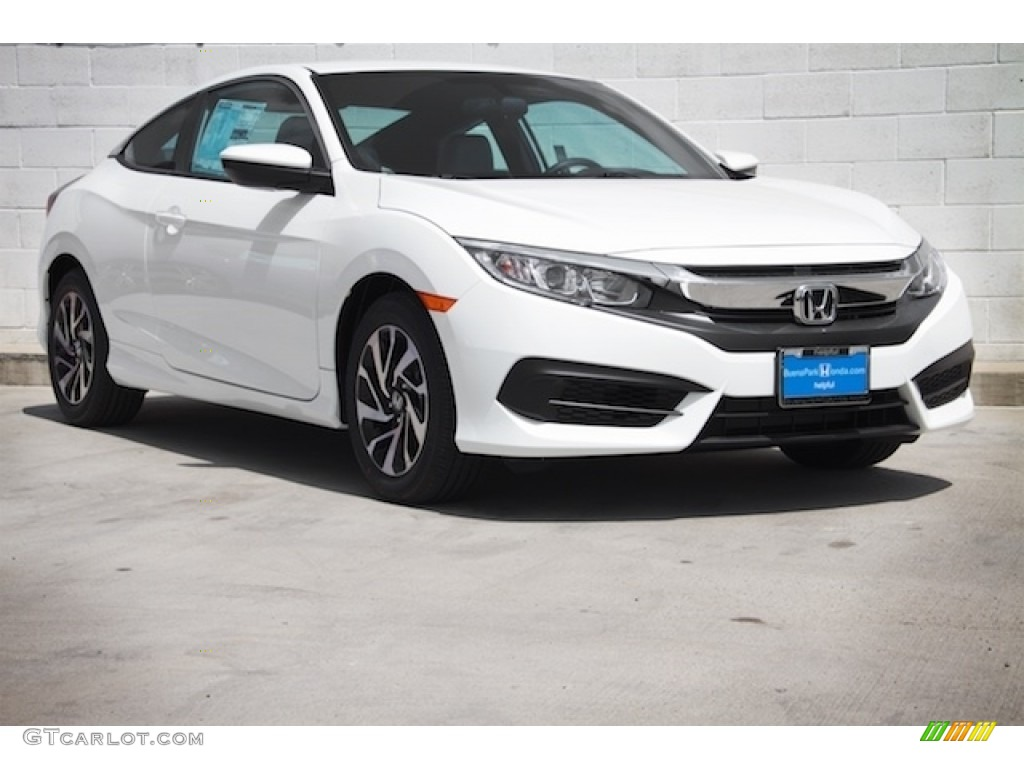 2016 taffeta white honda civic lx coupe 112317033 car color galleries. Black Bedroom Furniture Sets. Home Design Ideas
