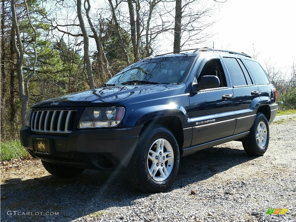2004 midnight blue pearl jeep grand cherokee laredo 4x4 112347856 car color. Black Bedroom Furniture Sets. Home Design Ideas
