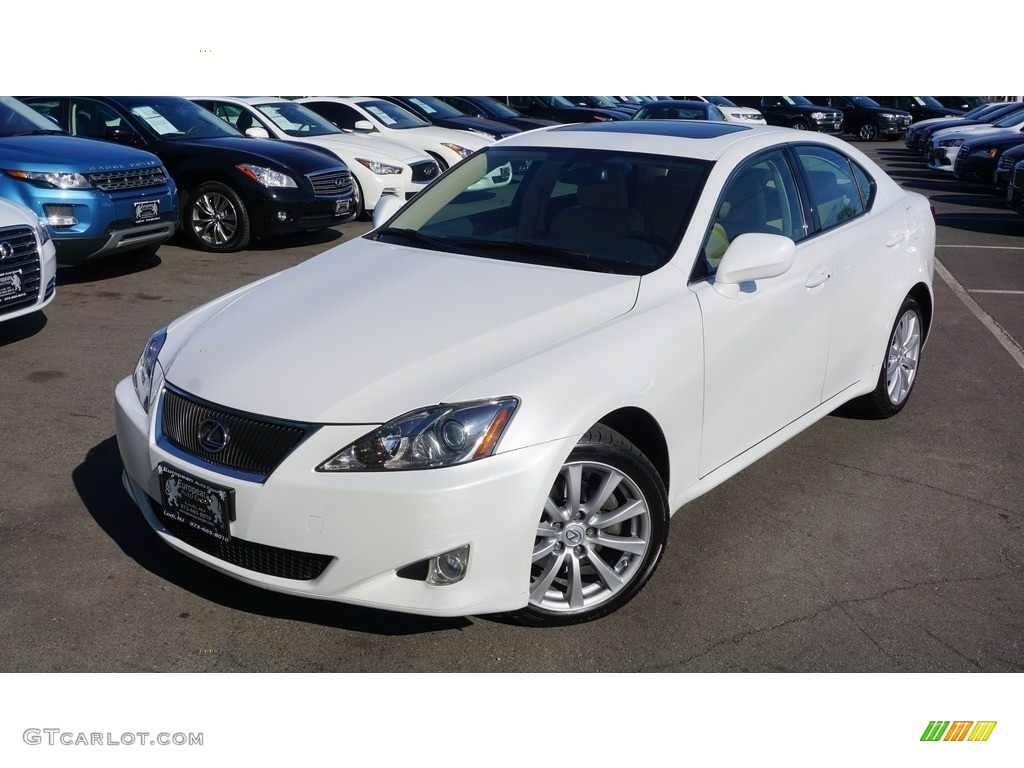 2007 starfire white pearl lexus is 250 awd 112347776. Black Bedroom Furniture Sets. Home Design Ideas
